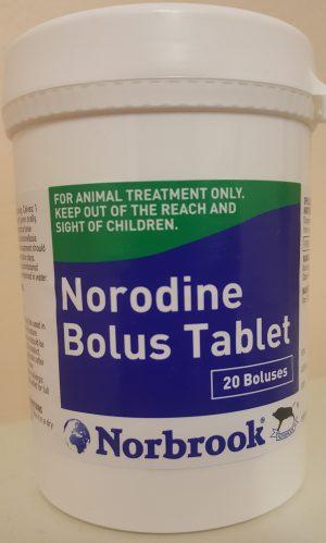 Norodine Bolus 20's