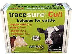 tracesure cui bolus for calves 20 pack