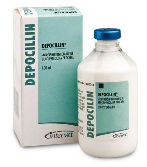 Depocillin 300mg/ml 100ml, POM-V