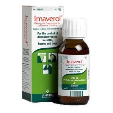 Imaverol 100ml ringworm wash, POM-VPS