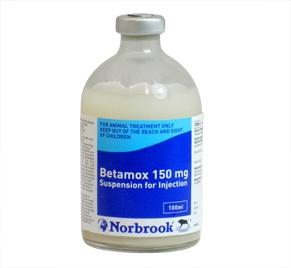 Betamox 150mg/ml 100ml, POM-V