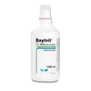 Baytril 10% oral 1L, POM-V