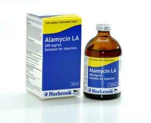 Alamycin LA 200mg/ml 100ml, POM-V