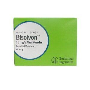 Bisolvon 10mg/g oral powder 5g x 40 pack, POM-V