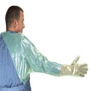 Gloves Green Soft W/Shoulder Prot (50),