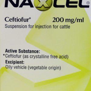 Naxcel 200mg/ml 100ml Cattle, POM-V