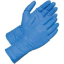 Gloves Nitrile Bodyguard Powder Free S (100),