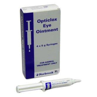 Opticlox Eye ointment 4 pack, POM-V