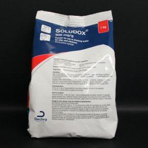 Soludox 500mg/g powder 1kg, POM-V