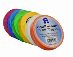 Tail Tape Agrihealth Green 25mmx50m,