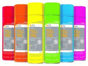 Tail Paint (Tell Tail) Aerosol Yellow 500Mls,