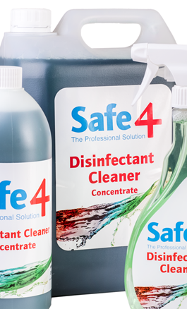 safe 4 disinfectant