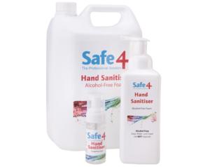 Safe 4 Hand sanitiser